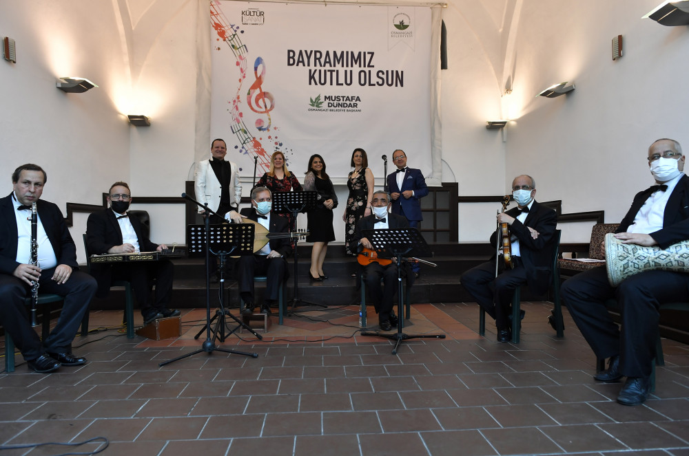 Osmangazi Belediyesi'nden bayrama özel online konser