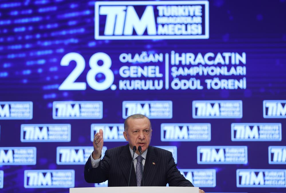 """Cumhurbaşkanı Erdoğan'dan """"İhracatı Geliştirme Fonu"""" müjdesi"""
